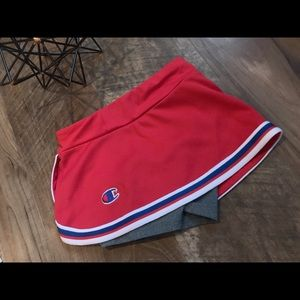 SUPER cute athletic skirt with built in shorts!